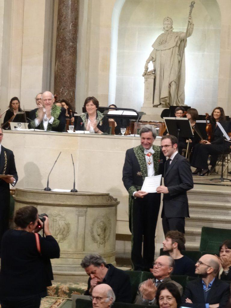 17. Remise du Prix Bettencourt. Creit T.Boileau